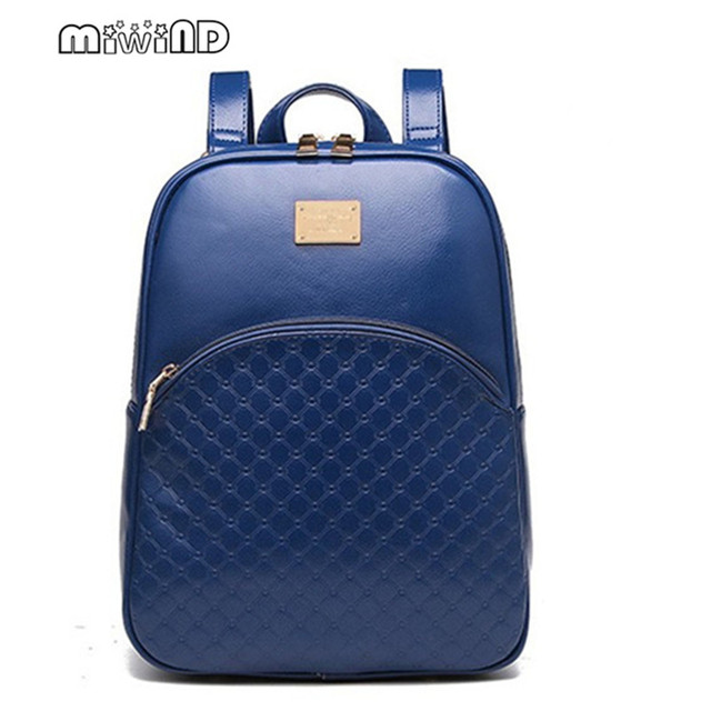 63c9d8389b vintage casual new style leather school bags high quality hotsale women  candy clutch ofertas famous designer brand backpack C068