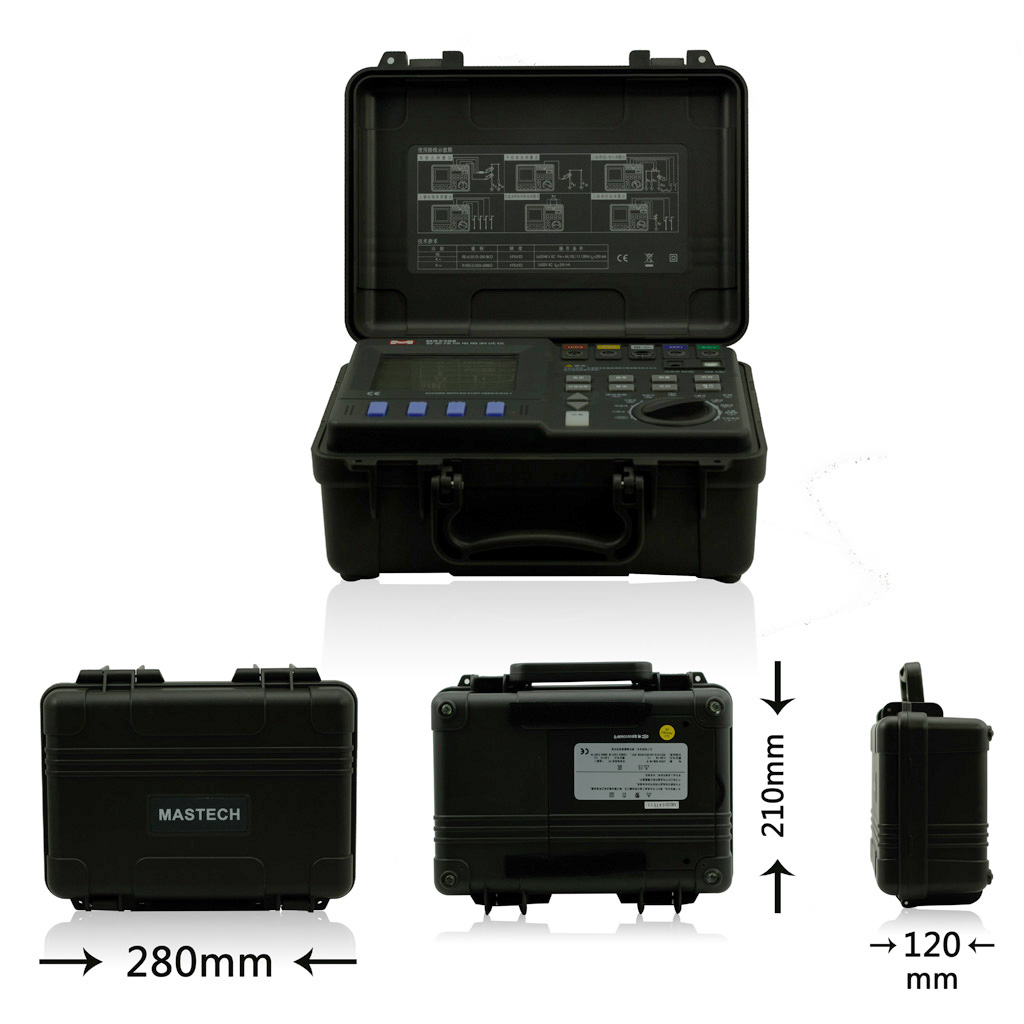 Kyoritsu Earth Tester 4105a Digital2 Daftar Harga Terkini Hi Hioki 3151 Mastech Ms2307 Intelligent Resistance Meter Usb20 Port Double Clamp 4 Pole