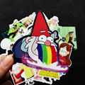 25Pcs/lot Funny Anime Gravity Falls Sticker For Car Laptop Luggage Skateboard Motorcycle Decal Kids Toy Sticker