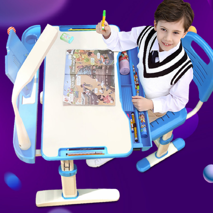 Height can be adjusted study table for kids table and chair kids furniture desk chair children table FREE SHIPPING