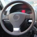 Car styling DIY Special Hand-stitched Black Genuine Leather Steering Wheel Cover For Volkswagen vw Golf 5 Mk5 Magotan Passat B6