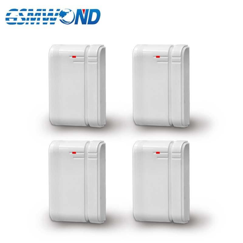 New 433MHz Wireless Door Open Detector For GSM Alarm System, Door Magnet Sensor, Built-in Antenna