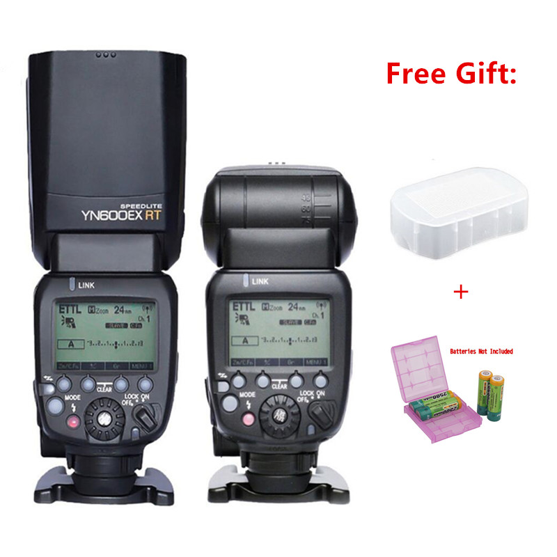Yongnuo YN600EX-RT 2.4G Wireless 1/8000s Master HSS Flash Speedlite Unit TTL Master for Canon DSLR Camera as Canon 600EX-RT yongnuo yn600ex rt ii flash speedlite 2 4g wireless hss 1 8000s master ttl speedlight for canon dslr as 600ex rt yn600ex rt ii