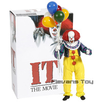 The Movie 1990 Stephen King's It Pennywise PVC Action Figure Figurine Collection Movable Model Toy