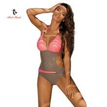 ariel sarah  2017 hot selling one piece swimsuit swimwear women brazilian bandage sexy beachwear bodysuit monokini q014