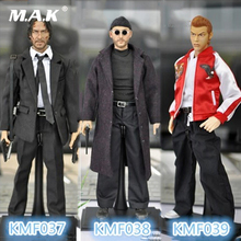 For Collection 1/6 Scale KUMIK KMF038 Jean Reno Leon Male Movie Actor Action Figure цена