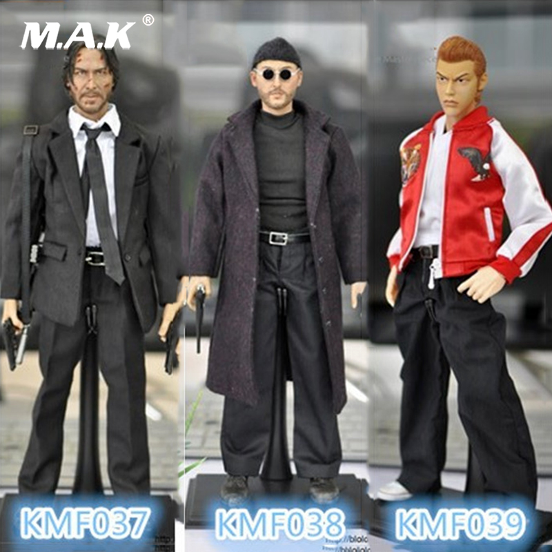 For Collection 1/6 Scale This killer is not too cold Jean Reno 12 Figure KMF038 /Keanu Reeves Action Figure Doll Toys Gift 1 6 scale full set male action figure kmf037 john wick retired killer keanu reeves figure model toys for gift collections