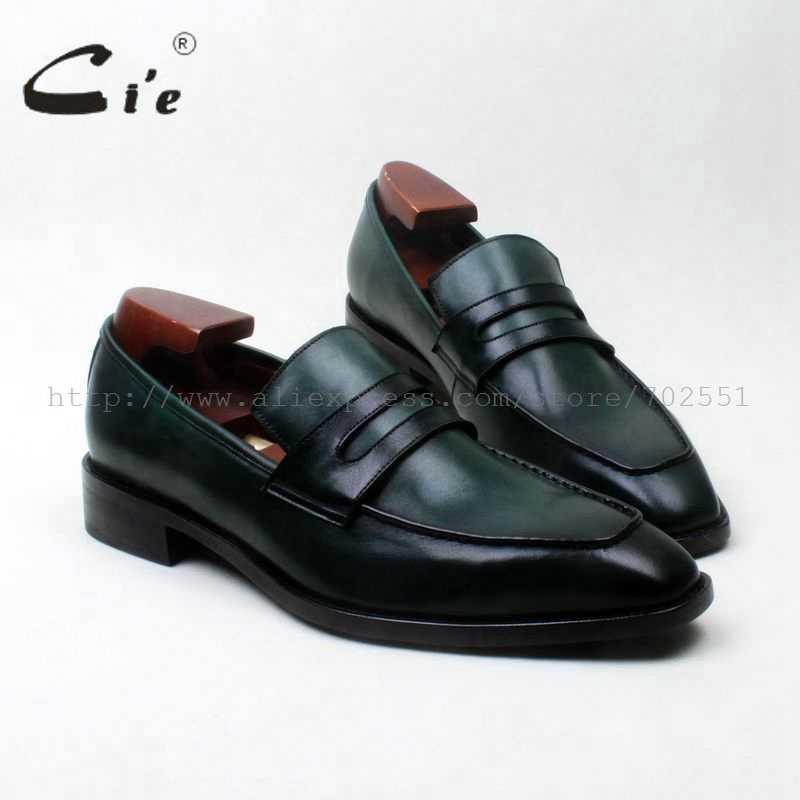 4d0ea95b65cb Cie с квадратным носком заказ мужская кожаная обувь ручной работы мужские  кожаные shoe100 % натуральной телячьей