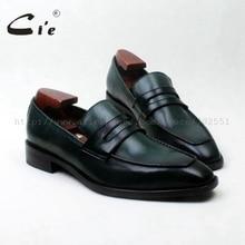 cie square toe bespoke leather men shoe handmade men leather shoe100 genuine calf leather men s