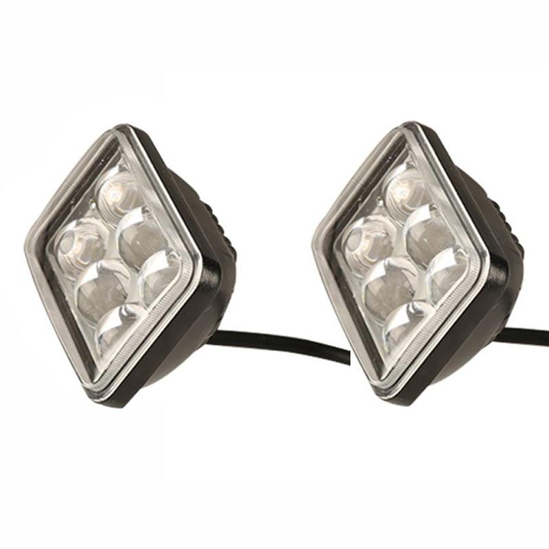 Falsa alarma roja intermitente LED Lámpara de Advertencia Luz De Tablero Coche Furgoneta Camper Caravana