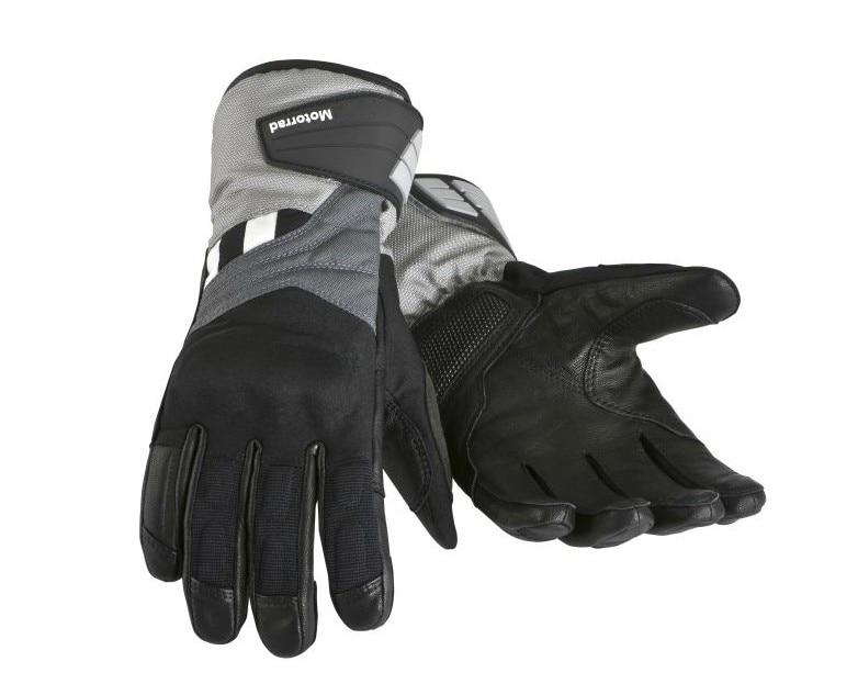 Freies verschiffen 2019 Motorrad Handschuhe GS Dry herren Grau Wasserdicht Atmungsaktiv Reise Enduro Für BMW Motorrad Handschuh