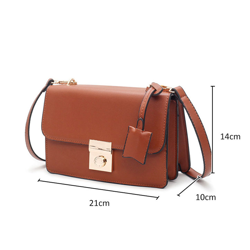 4ed4c72b910 DALFR PU Leather Messenger Bag Women Bag 2018 Fashion Shoulder Bag Female  Crossbody Small Bag Luxury Brand Bolsas Feminina-in Top-Handle Bags from  Luggage ...