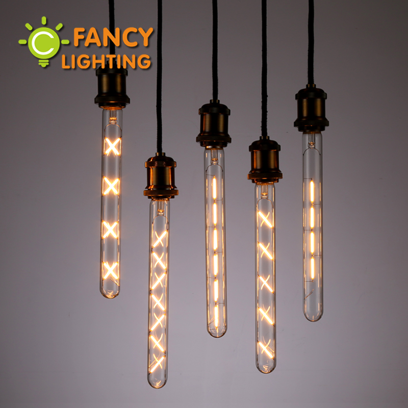 led lamp 300mm led tube bulb e27 220v vintage edison filament light bulb for home decor energy. Black Bedroom Furniture Sets. Home Design Ideas