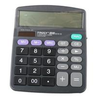 One Piece New Original Truly 831A 12 Office Calculator 12 Digits Lcd Large Screen