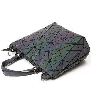 Image 3 - Maelove זוהר תיק 2020 נשים של גיאומטרי יהלומי Tote אופנה מתקפל תיק יוקרה תיקי נשים שקיות מעצב