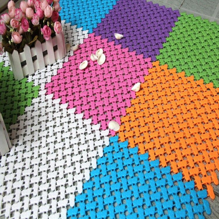 25x25cm Multi color selection Feet Candy color bathmats Lishui shower shower pad pad stitching foot massage health care bath +B