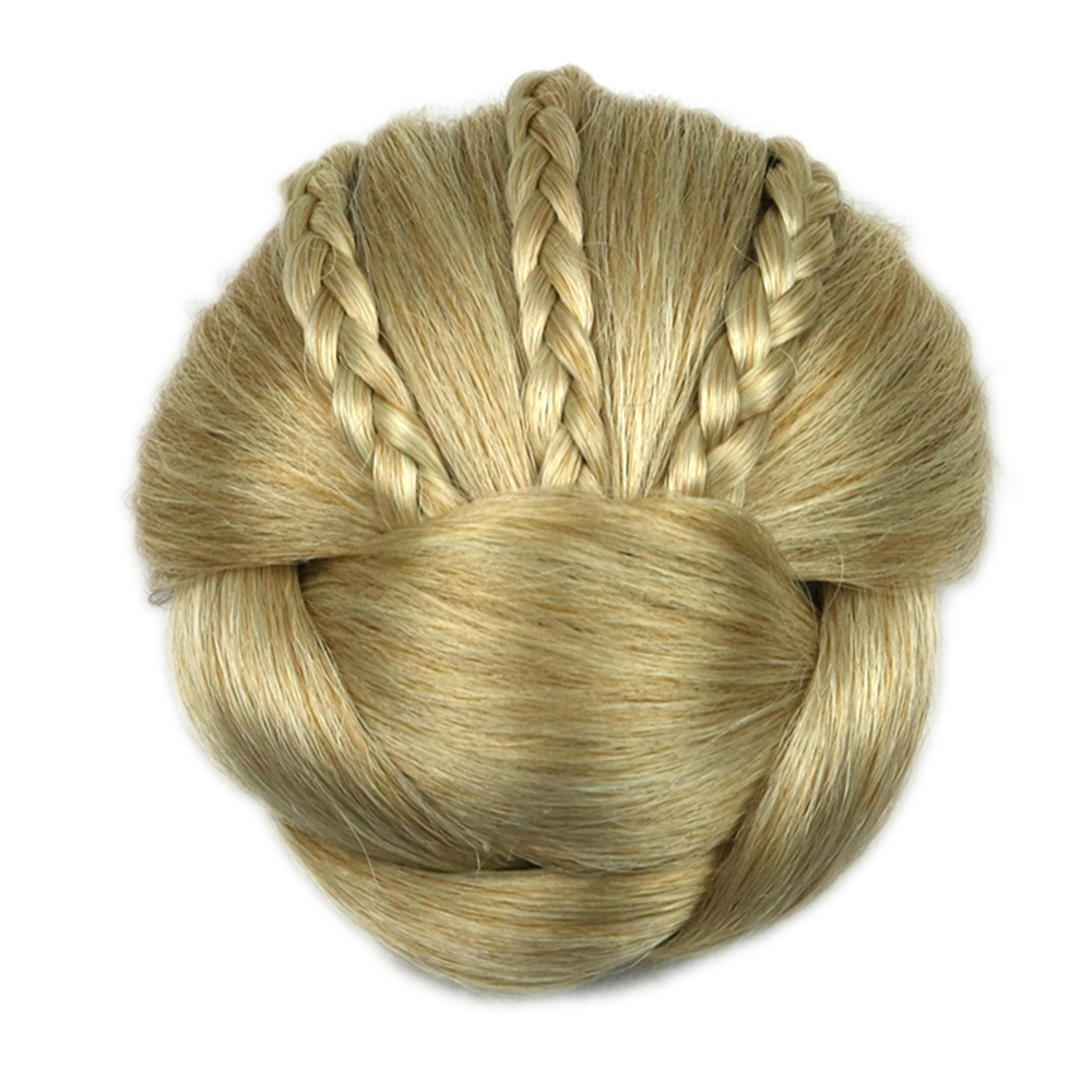 Soowee 6 Colors Synthetic Hairpiece Braided Chignon Hair Clip In Hair Bun Donut Hair Rollers Headwear Hair Accessories For Women