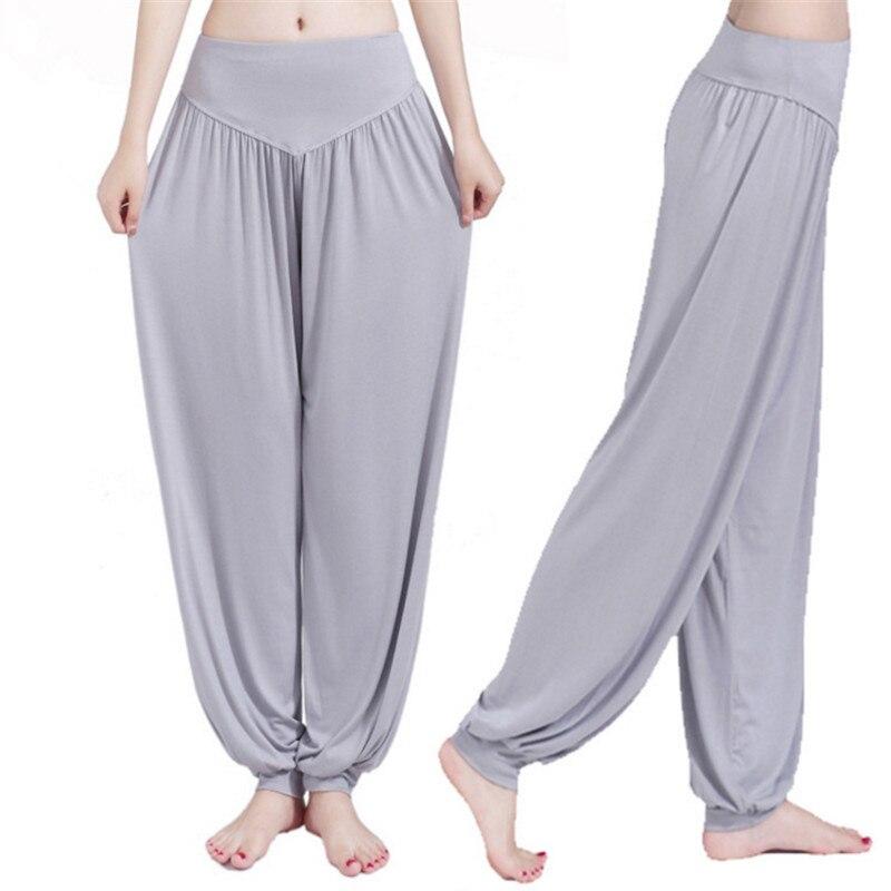 Yoga Pants Women Bloomers Dance Yoga TaiChi Full Length