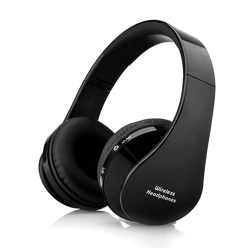 8252 Fidelity Surround Sound Headphones Wireless Stereo Headsets Bluetooth3.0+EDR Headphone Headset With Mic big Earmuff lexin 2pcs max2 motorcycle bluetooth helmet intercommunicador wireless bt moto waterproof interphone intercom headsets
