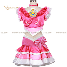 Kisstyle Fashion HeartCatch PreCure! HeartCatch Pretty Cure! Cure Marine Erika Kurumi Cloth Cosplay Costume,Customized Accepted(China)