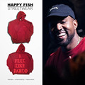 PROVERGOD Hot New Mens Hoodies Letter Prited Clothes Hip Hop Long Sleeve Pullover Hooded Sweatshirts Red swear Kanye Clothing
