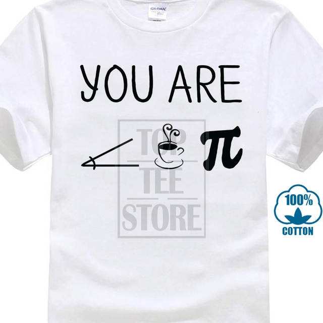 3c197b5b71f Online Shop personality Men S Funny You Are Cutie Pie Science Maths School  Present Gift Christmas Design T Shirt Cool Summer Tops