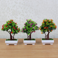 Green Planted Bonsai Handmade Miniature Table Decoration Bonsai Household Product Living Decoration Giftware Bonsai Non Cleaning