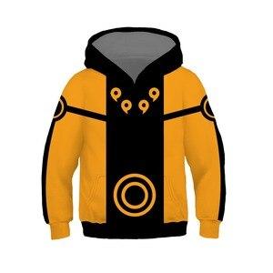 Image 5 - Kids Naruto Uchiha Sasuke Akatsuki Anime Hoodie Sweatshirt Jacket Coats Cosplay Costumes