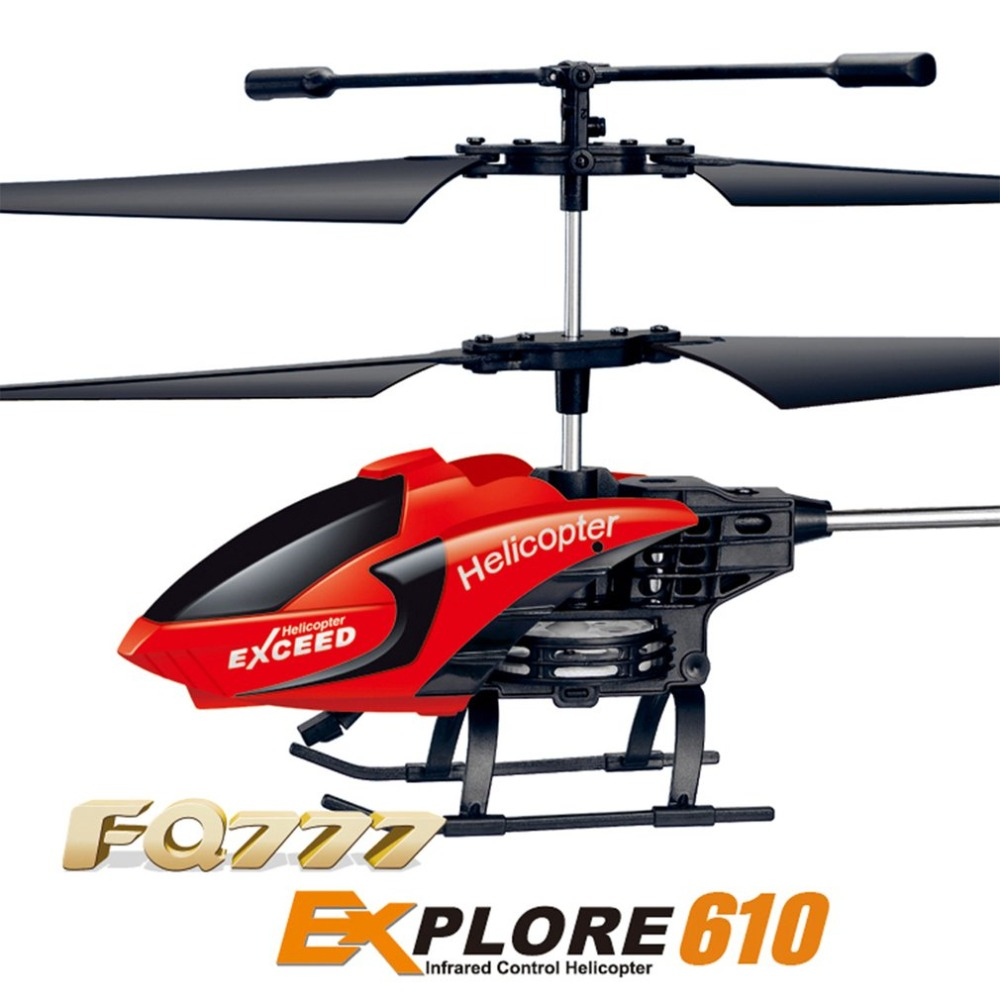 FQ777 610 Explore RC Drone Aircraft Mini Helicopter 3CH 6-Axis Gyro Infrared Remote Control Toys Gift RTF syma 107e remote control mini drone 3ch rc mini helicopter gyro crash resistant baby gift toys smallest helicopter kid air plane