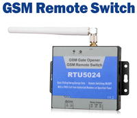 GSM Remote Gate Opener Access Control Relay Switch Wireless Door Opener By Free Mobile Call RTU5024