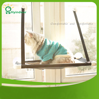 Hanging Seat Removable Sill Winter Kitten Cat Lounger Hammock Bed Mount Window Suction Cups Warm Pet Rest House Soft