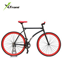 Original X Front brand colorful fixie Bicycle Fixed gear bike 46 52cm DIY single speed road bike track fixie bicycle fixie bike