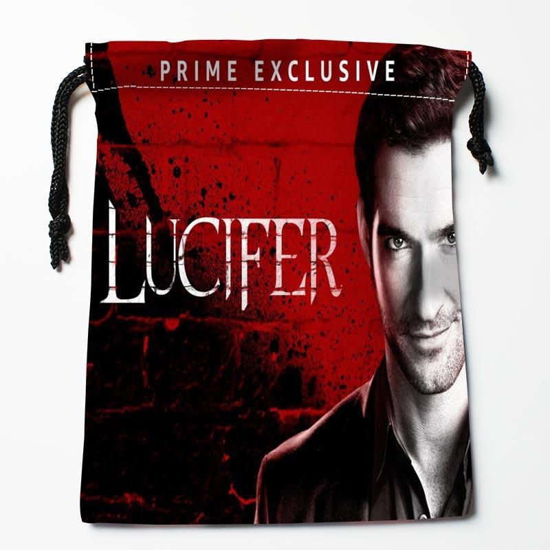 Lucifer Season 3: Custom Lucifer Season 3 Printed Drawstring Receive Bag