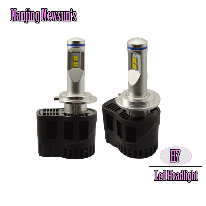 2x Car Led Headlight Conversion Kit Bulbs H7 55W 5200Lm 6000K For Auto Motorcycle Driving Light Replace Bulb citizen часы citizen bf2011 51ee коллекция basic