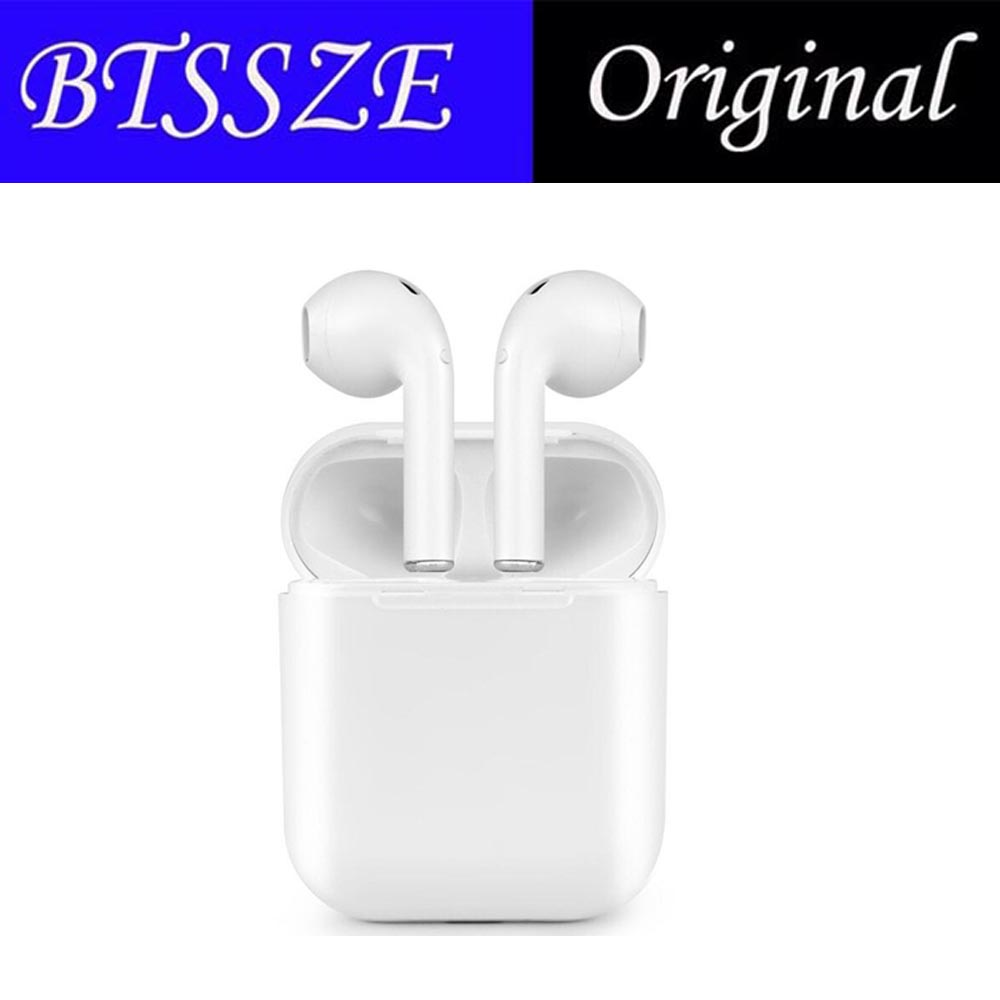 high quality I9S Bluetooth Earbuds Earphone Wireless Headset not air pods Ear Double For Iphone Andorid 6 6s 7 8 plus X