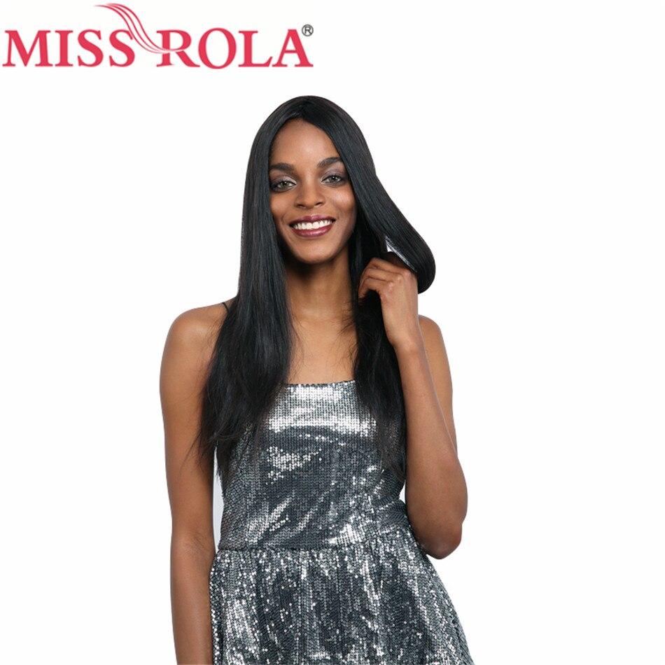 Miss Rola Haar Braziliaanse Steil Haar Weave 8-26 Inches 100% - Mensenhaar (voor zwart) - Foto 2