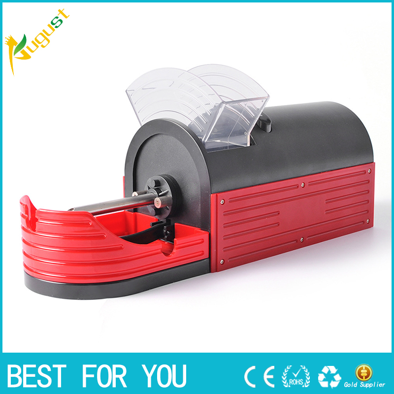 1 pcs Uso de Tabaco de Rolo Máquina de Rolamento Máquina de Rolamento do Cigarro Elétrico Automático Fabricante de Cigarro Senhora