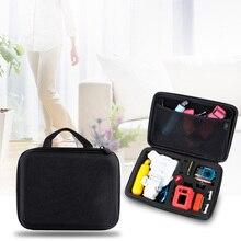 Новое поступление Размер M Портативный Ева водонепроницаемый футляр Box сумка для GoPro Hero