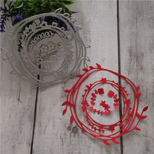 DIY Circle Ring Dies Metal Cutting Steel Stackable Scrapbooking Embossing Cut Stencils Decorative Cards