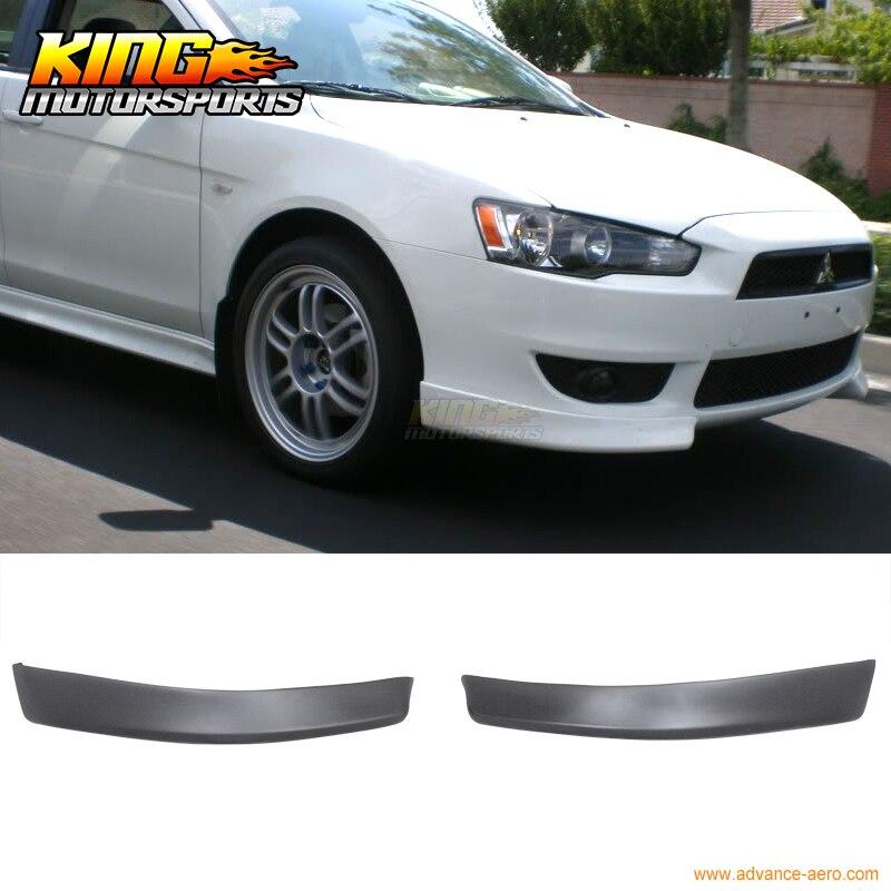 For 2008-2014 OE Style PP Front Bumper Lip Spoiler Body Kit For Mitsubishi Lancer все цены