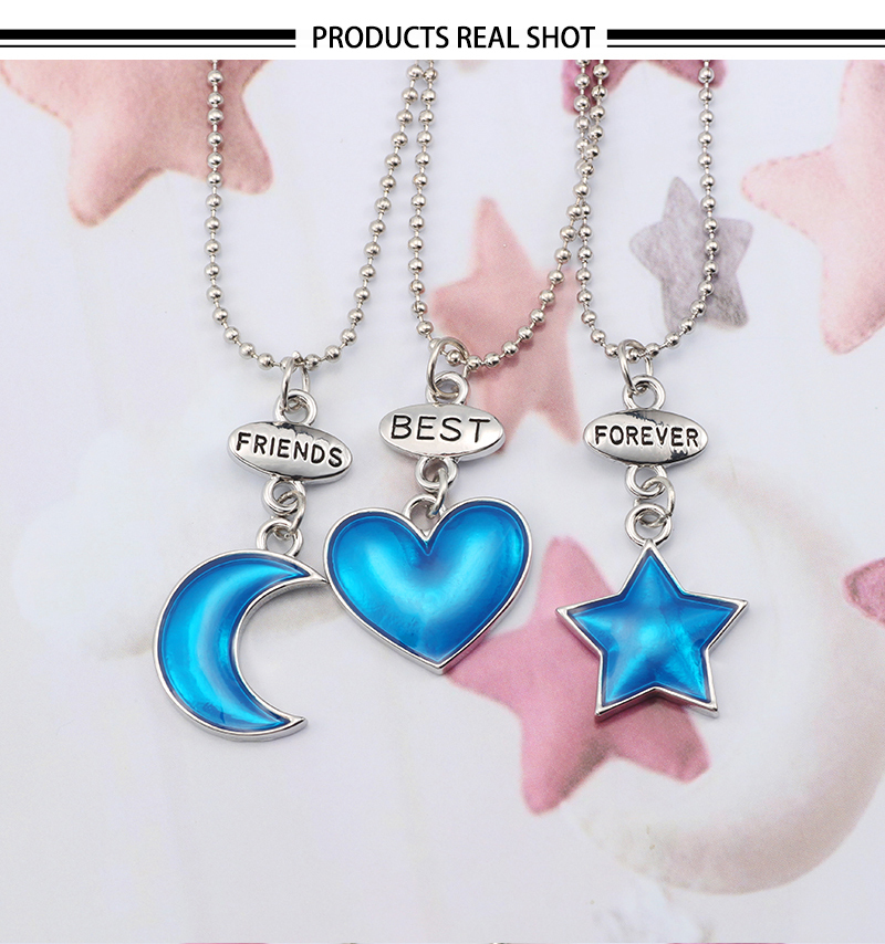 HTB1ngPNXdfvK1RjSszhq6AcGFXaI - Best Friend Necklace Women Crystal Heart Tai Chi Crown Best Friends Forever Necklaces Pendants Friendship BFF Jewelry Collier