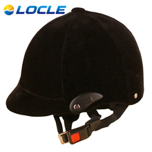 LOCLE Upgrade Version Men or Women Adjustable Equestrian Horse Riding Helmet Safety Half Cover Horse Rider
