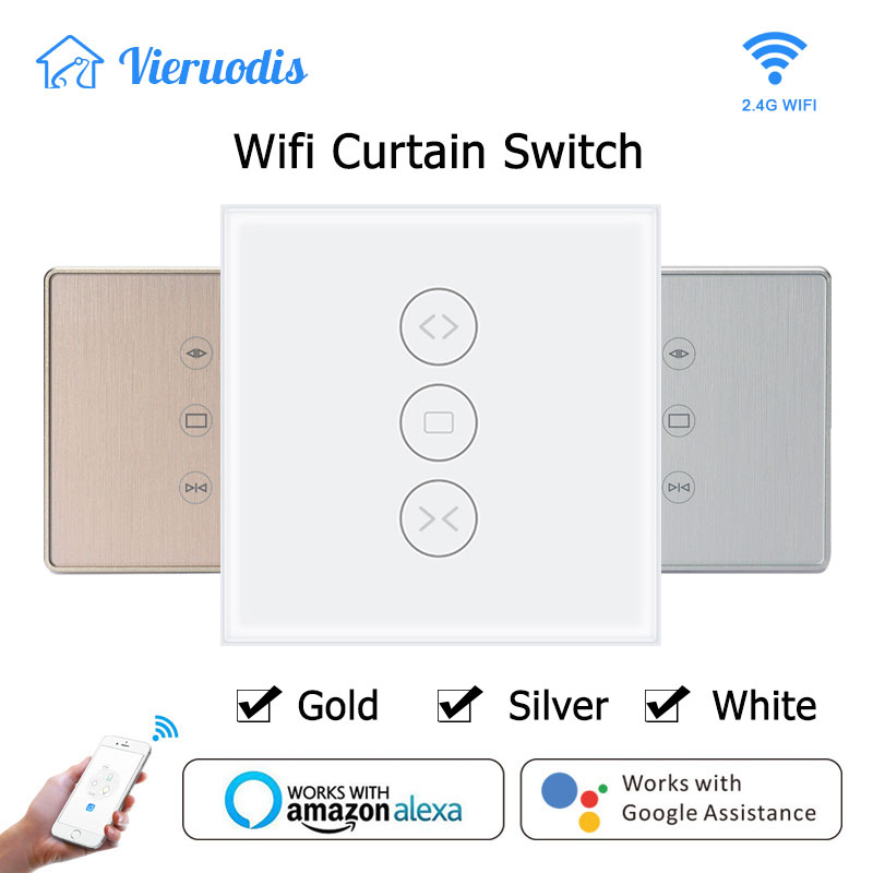 HOT SALE] Voice/Wifi Control Smart Life Curtain Switch for