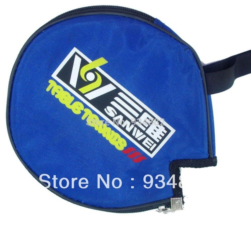 2 Pcs Sanwei Table Tennis (Ping Pong) Paddle Bag