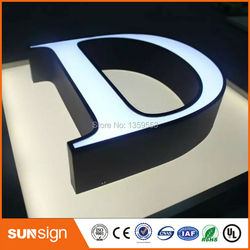 outdoor advertising lettre lumineuse LED channel letter signs