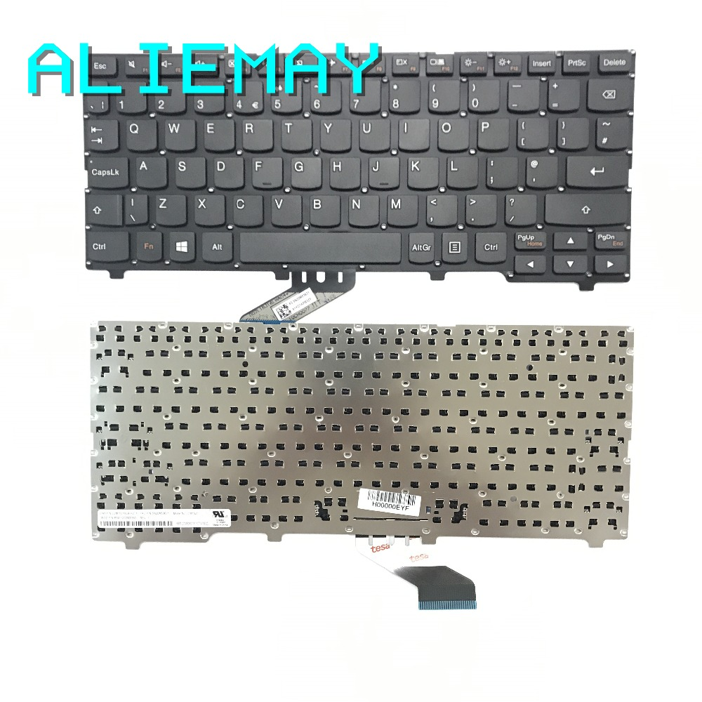Brand New Original UK Keyboard For Lenovo IDEAPAD 110S-11 110S-11IBR  110S-11AST  UK Keyboard  BLACK