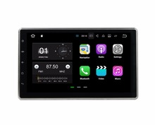 Quad Core 2 din 10 1 Universal Android 7 1 Car Radio DVD GPS With Bluetooth