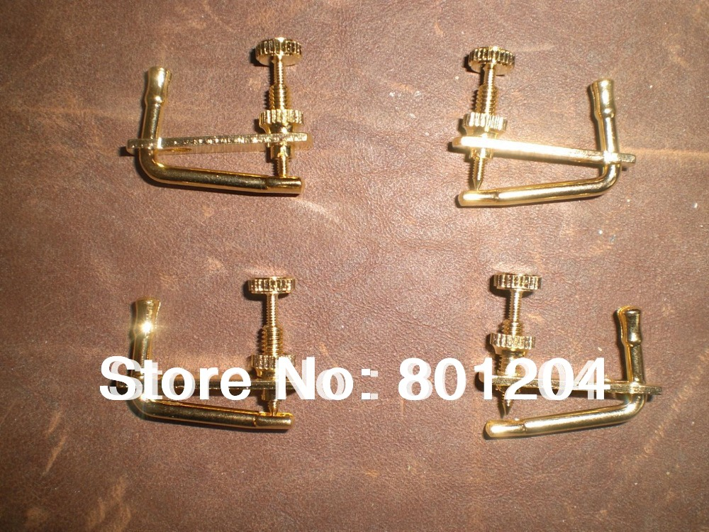 Brand new GOLD COLOR 02# Violin fine tuners 100pcs 3/4 TO 4/4 size