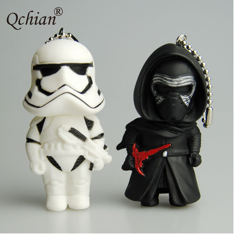 Jewelry & Accessories Motivated Star Wars Cartoon Black Knight White Soldiers Version Doll Ornaments Pendant Car Backpack Decorative Keychain Key Chains