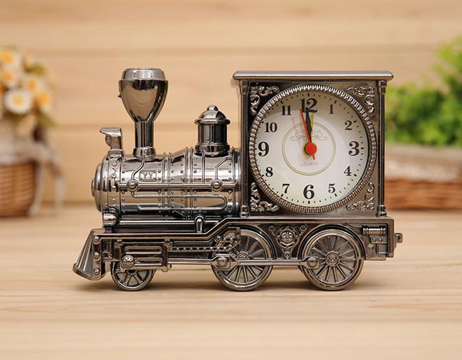 Student Geschenk wecker Antike vintage lokomotive lokomotive Alarm studenten geburtstagsgeschenk 6167